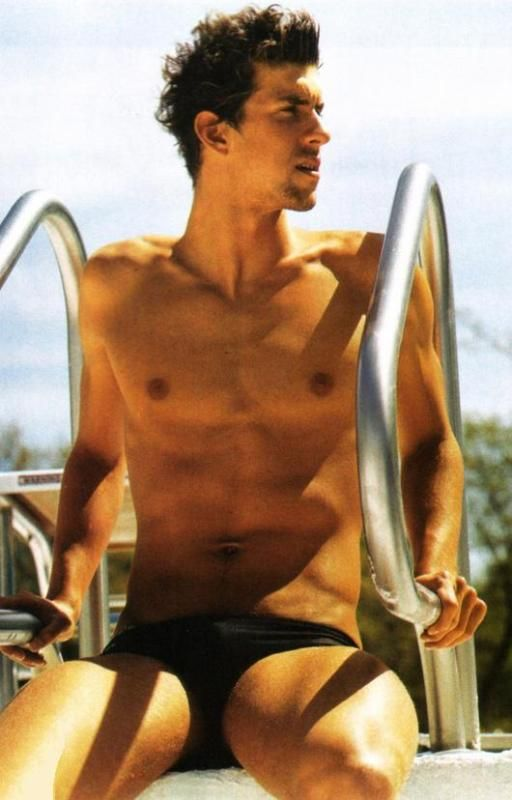 Michael Phelps. Omg. Marry me now.