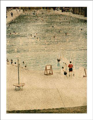 John Huggins-'Glenwood Hot Springs, Colorado, ed. of 17'-Sears-Peyton Gallery
