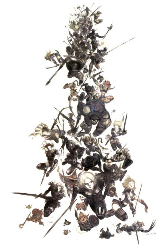 Final Fantasy XI - Yoshitaka Amano