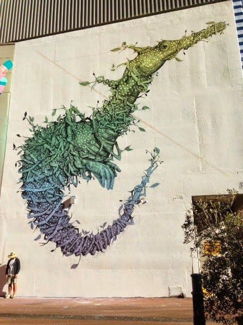 Top 5 Graffiti Street Art from April 2014 - Alexis Diaz in Perth, Australia.