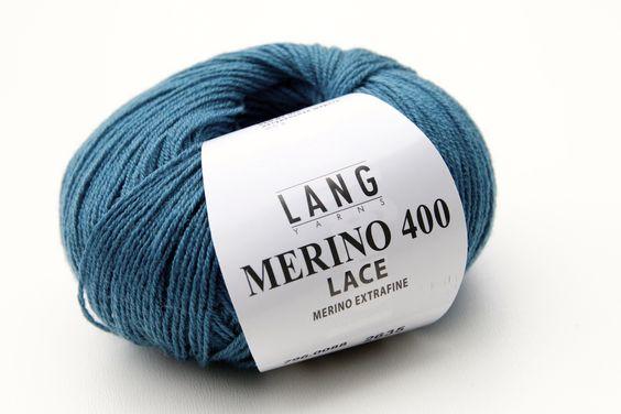 Langyarns Merino 400 Lace Petrol