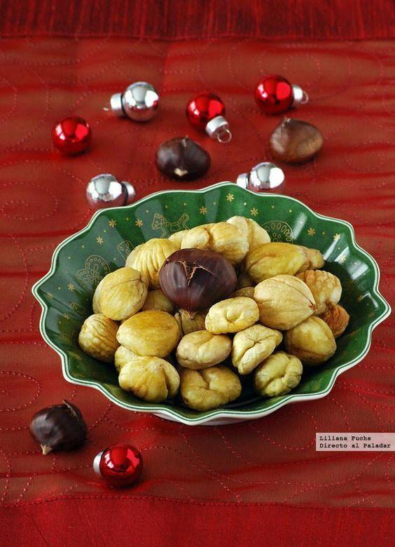 Cómo hacer castañas asadas en casa. Receta tradicional de Navidad. Con fotos paso a paso, consejos y trucos para asar castañas en el horno....