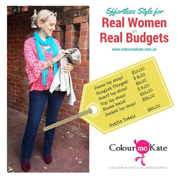 Colour me Kate | Image Consultant | Perth, Western Australia. | Four Tips to Style on a Budget.