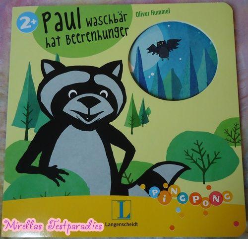 """The book """"Waschbär Paul hat beerenhunger"""" is so sweet."""