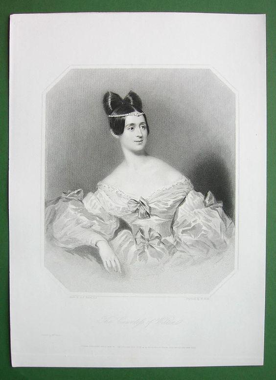 Queen Victoria Court Beauty Countess of Wilton
