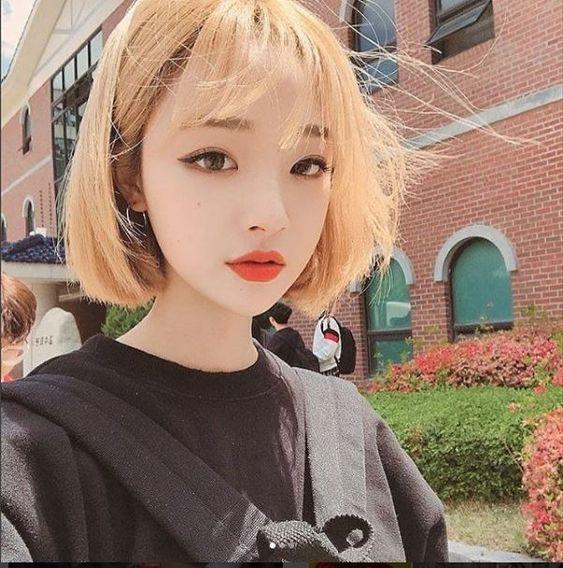 gaya korean cute hair