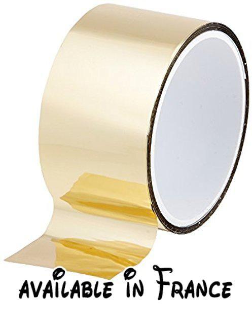 B019fc85s2 Tapecase 972 Mpft Gold Or Utilisation Polyester Acrylique Film Adhésif Ruban Adhésif 0cm D épaisseu Film Adhésif Plaque Signalétique Ruban Adhesif