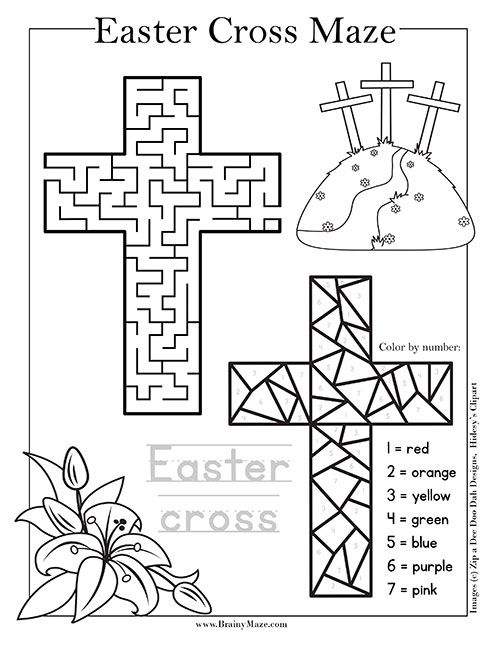 Pin On Religious Education Religious easter worksheets for