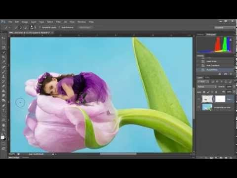 Tips, tricks, posing for fairy photography, removing backgrounds for new digital backgrounds via the refine edge tool