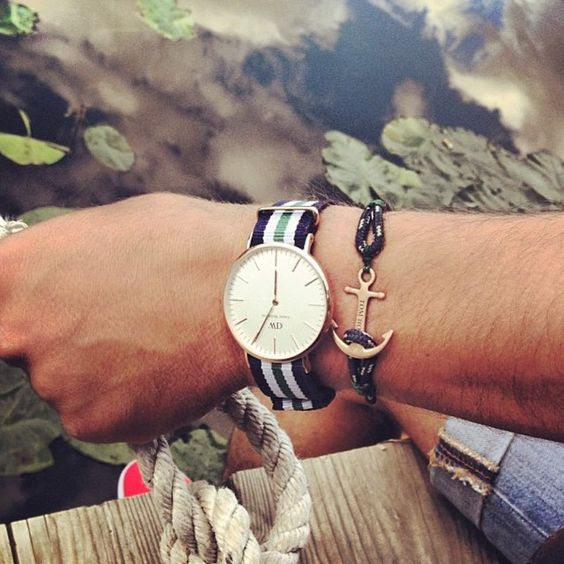 \u0026quot;Handcrafted anchor bracelets created by Tom Hope Sweden @thetomhope. Sold exclusively on WWW