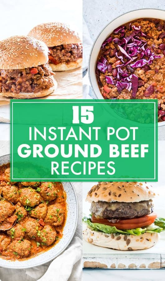 Easy Instant Pot Ground Beef Recipes Beef Recipes Easy Instant Pot Recipes Gluten Free Instant Pot Recipes