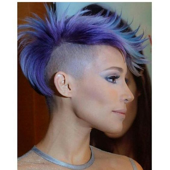 Un+poco+de+color+en+su+cabello!+Cortes+de+pelo+corto+con+hermosos+colores!
