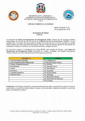 Revista El Cañero: Declaran La Romana alerta amarilla, se esperan tor...