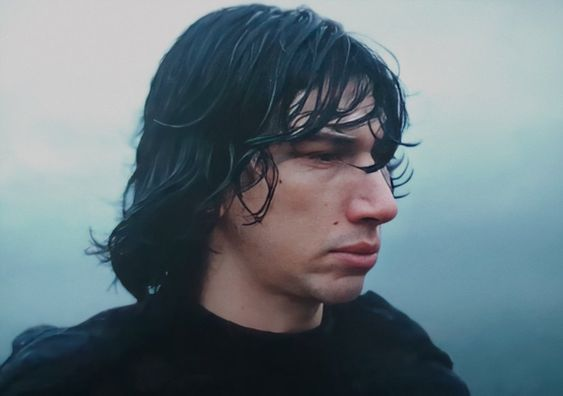 """in this moment he's not kylo anymore. he's ben solo in kylo ren's clothes"