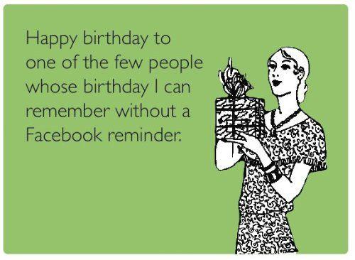 Amazon Someecards Assorted Birthday Greeting Cards Pack of – Facebook Birthday Greeting Cards