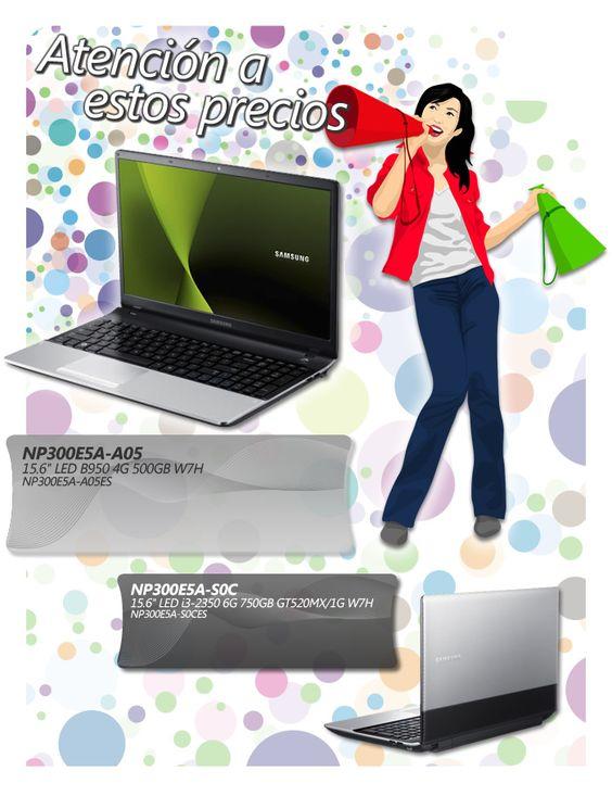 Oferta de portatiles Samsung