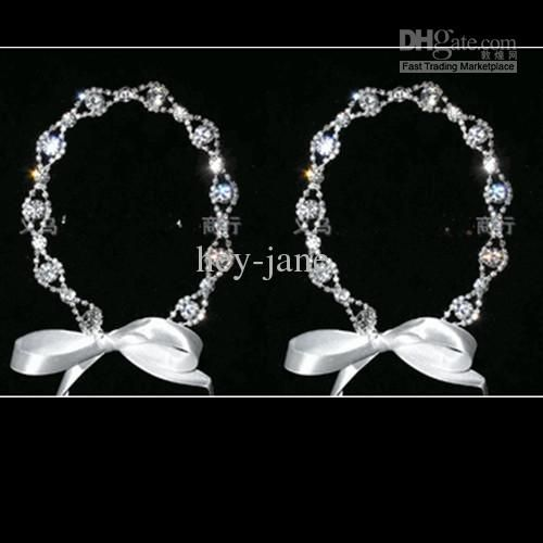 Wholesale Use Necklace - Buy High Quality Crystal Wedding Bridal Hairband With Ribbon Also Can Use as Necklace, $12.57 | DHgate