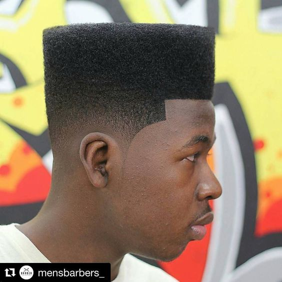 box fade black men haircut 2021