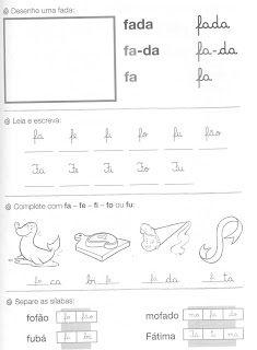 Educa Facil Tia Paula Cartilha Porta De Papel Atividades De