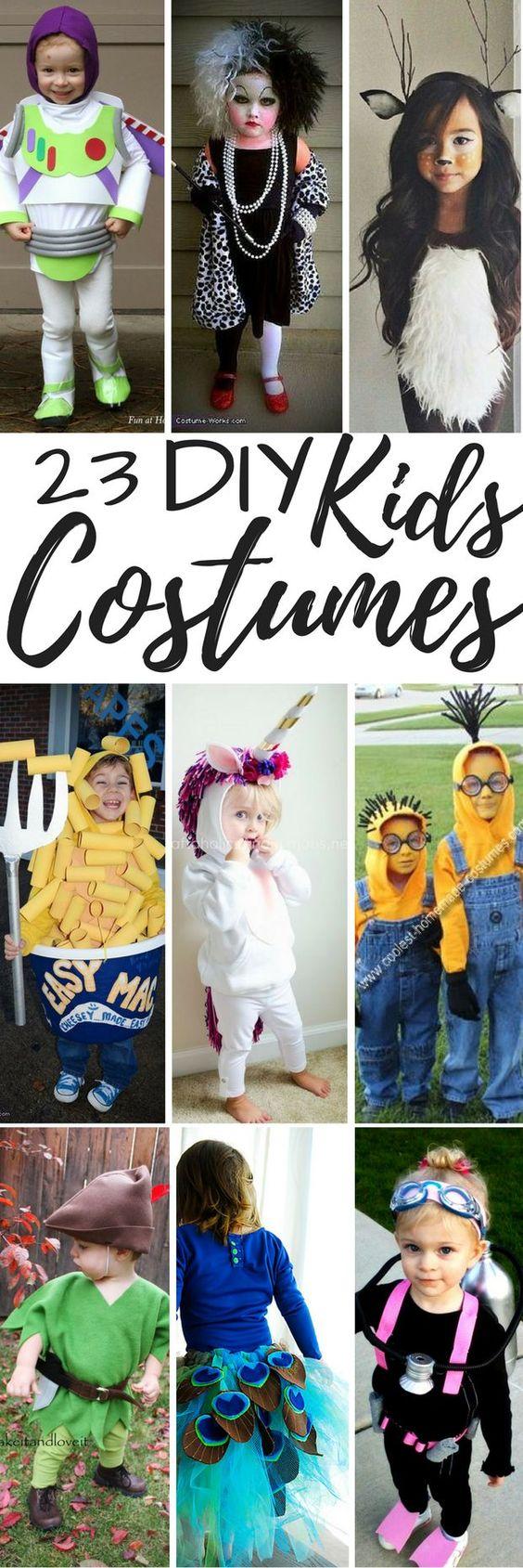 23 DIY Kids Costumes