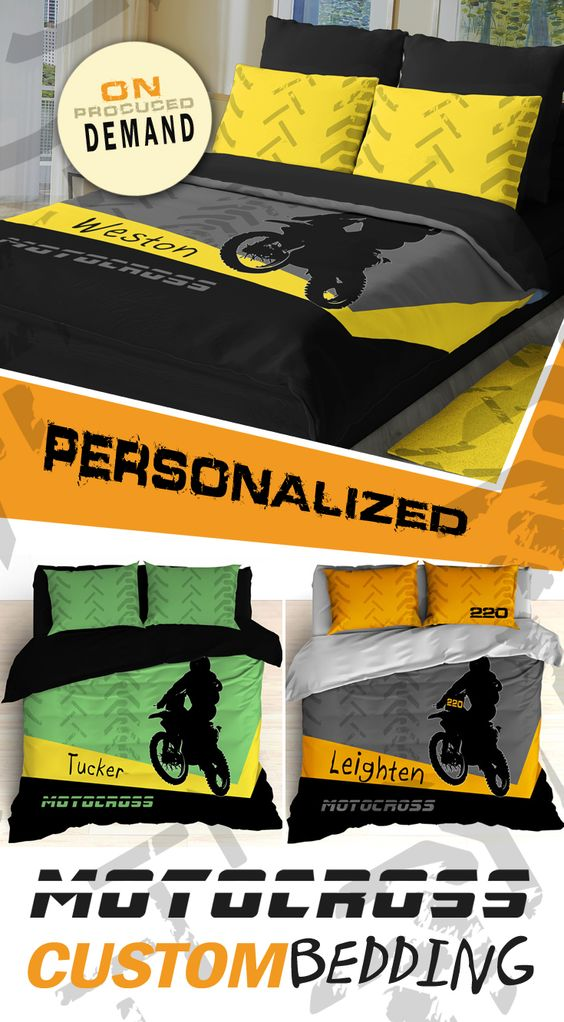 Motocross Bedding Ideas