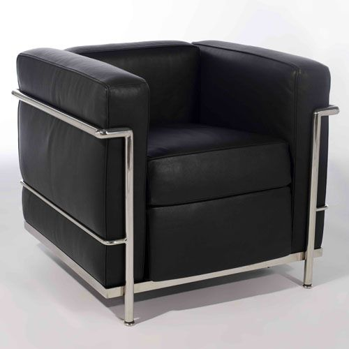 Le corbusier furniture le corbusier lc2 sofa le for Le corbusier lc2
