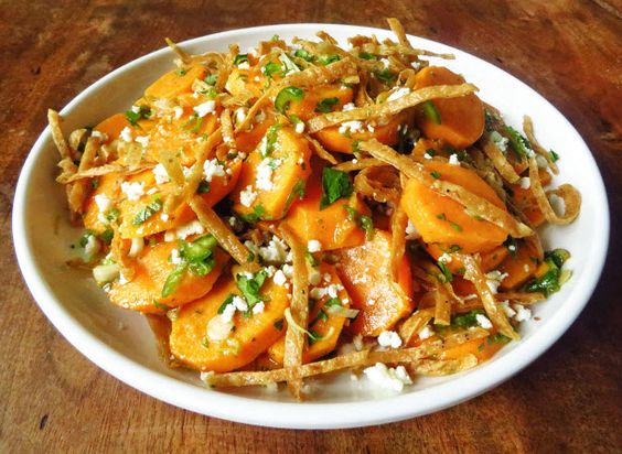 Superfood Stunner: Sweet Potato Salad (http://blog.hgtv.com/design/2014/08/21/sweet-potato-salad-recipe/?soc=pinterest)