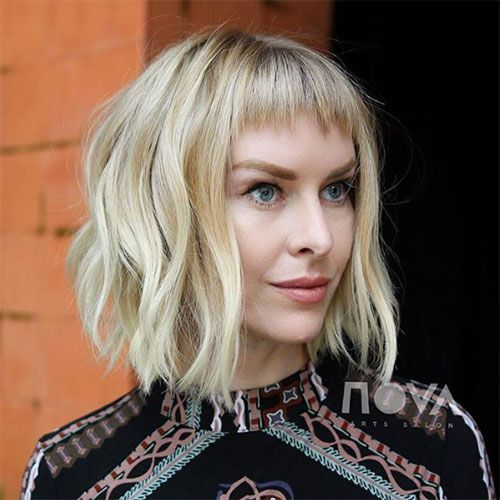Micro Pony Thick Hair Styles Hairstyles With Bangs Short Hair With Bangs