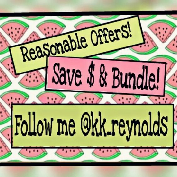 PRICE DROPS   Reasonable offers considers Some listings may already be at its lowest  Always have bundle discounts Other