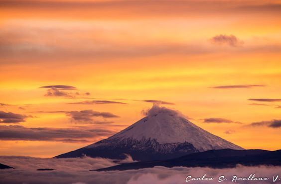 Google+Volcán Cotopaxi. País de fotografía: Ecuador.