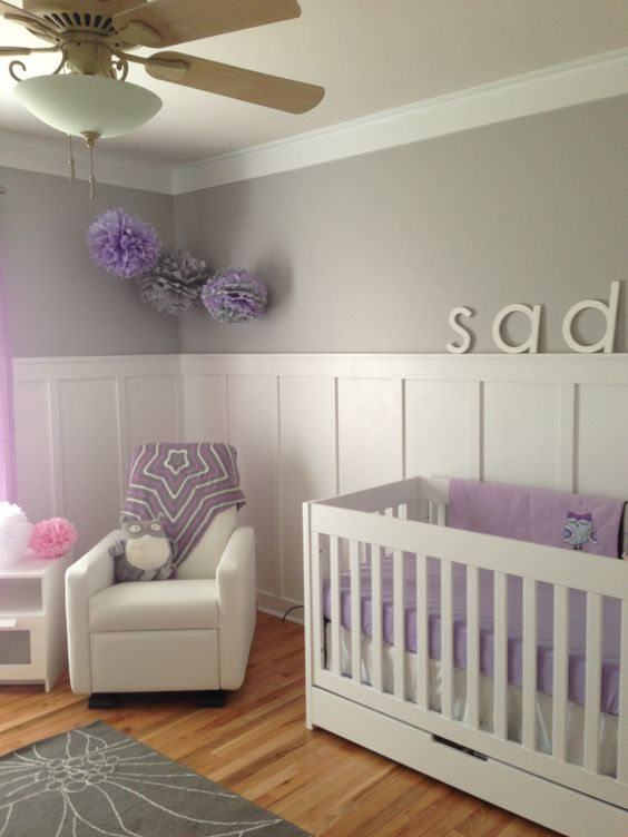 Sadie 39 s lavender and gray bedroom paint Light French gray from Sherwin  Williams  Pinterest. Lavender Paint Colors Bedroom