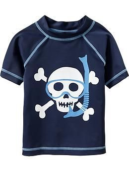 Snorkel-Skull Rashguards for Baby | Old Navy