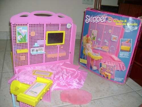 Quarto + Escritório Skipper(irmã Barbie) - Excelente Estado - R$ 290,00