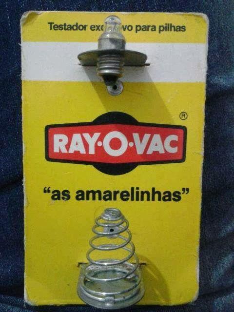 [1980] Testador de Pilhas RAYOVAC