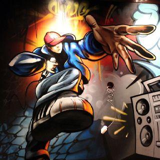 Graffiti bedroom home Art by Graffiti Kings Artist, go to www.graffitikings.co.uk for more Street Art, Stencil Art & Graffiti Art.