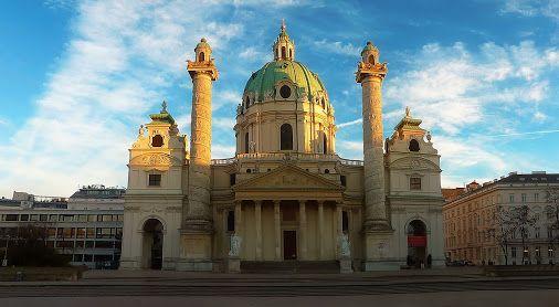 KARLSKIRCHE Wien, Vienna, Austria