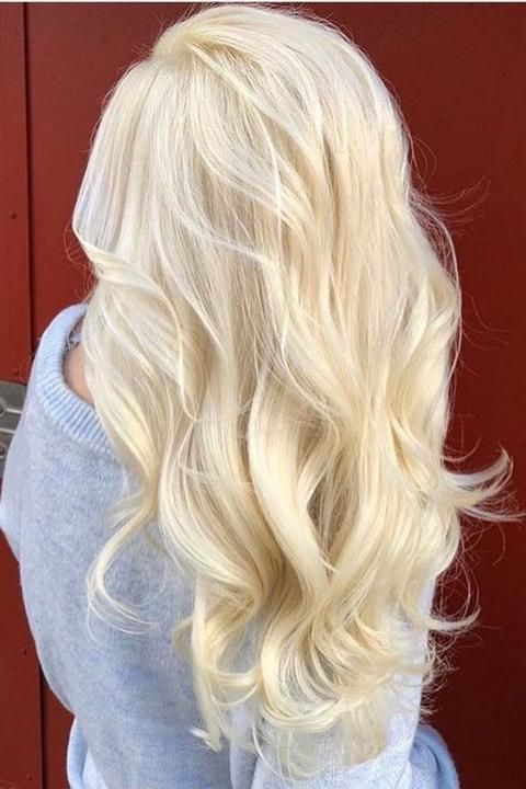 15 Off U Part Human Hair Wigs With Clips Bleach Blonde Clip In