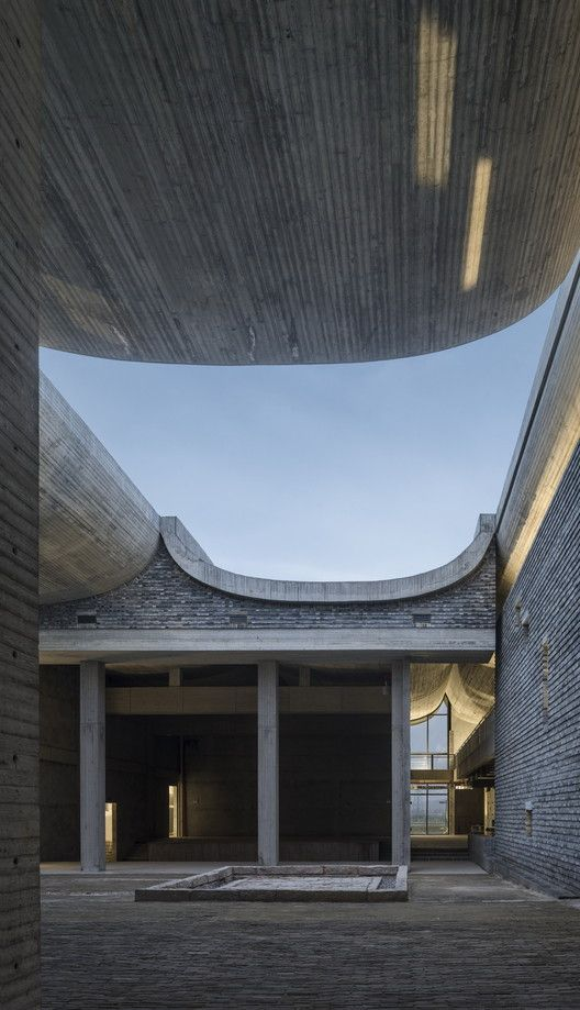 Tian Han Cultural Park Wcy Regional Studio Traditional Building Architecture House Styles