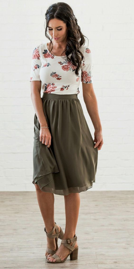 Top Midi Skirts
