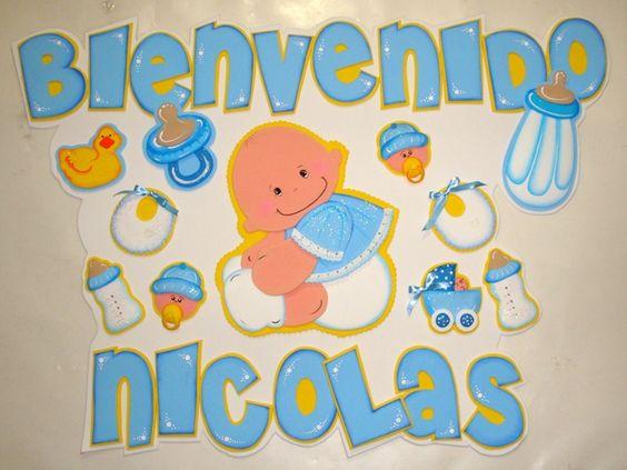Cotillones y mas bienvenido bebe en foami lbumes web for Webs de decoracion