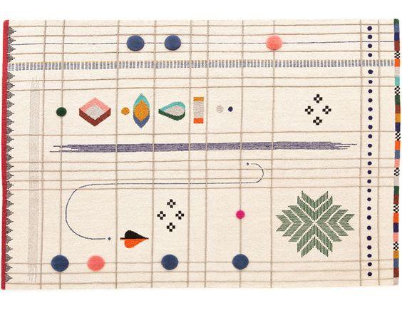 Rabari 1 Rug by Nipa Doshi & Jonathan Levien for Nanimarquina