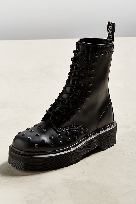 estate doloroso eroina  Dr. Martens 1490 Stud Boot | Studded boots, Boots, Studded loafers