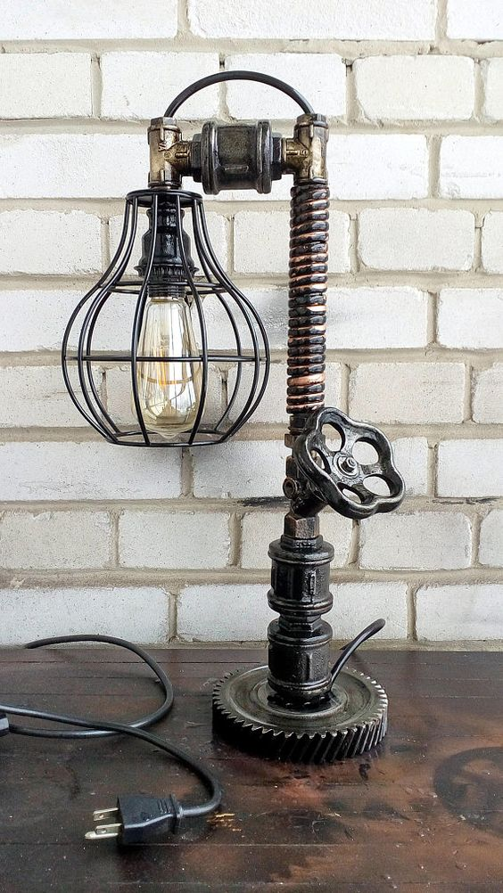 Edison retro light/Edison table lamp/Industrial design