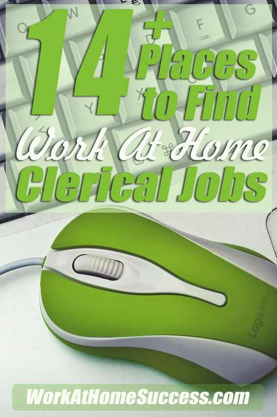 Best 25+ Clerical jobs ideas on Pinterest Work at home - clerical tasks