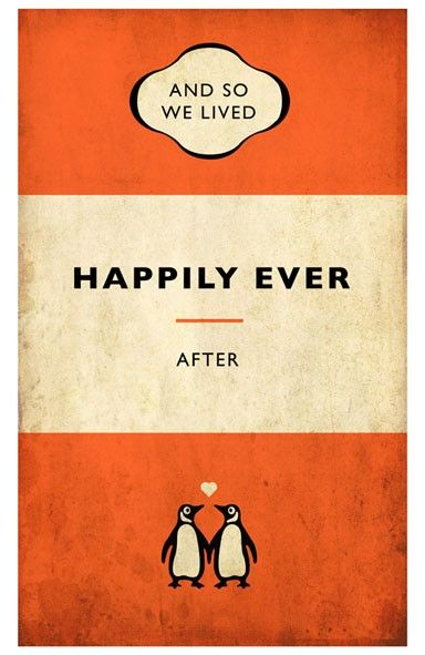Penguin Book Covers Poster ~ Penguin style book poster signed limited edition print