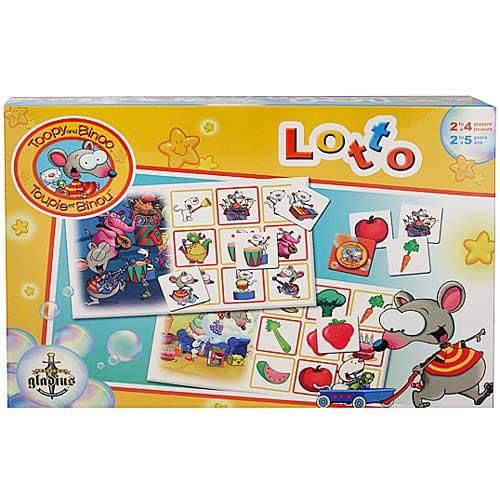 Toopy and Binoo Lotto Game $19.99