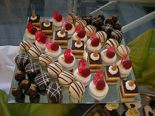Petit fours, Display ideas and Display on Pinterest