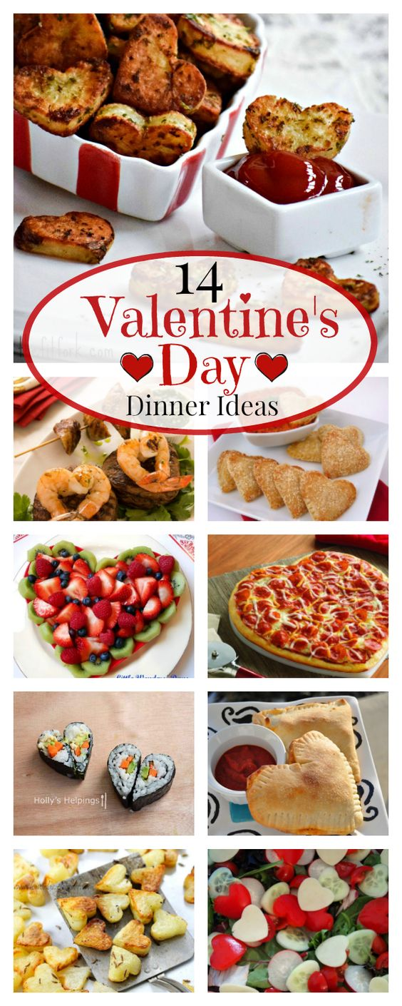 14 Valentines Dinner Ideas
