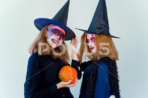 People In Halloween Costumes Stock Image 82876436 With Images