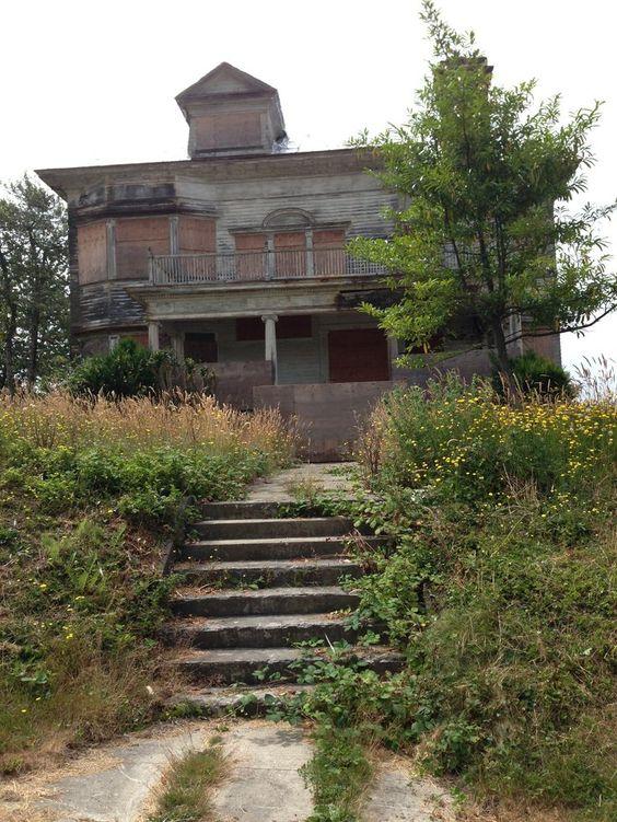 The Flavel mansion in Astoria, Oregon.